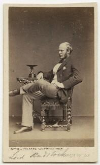 Granville Augustus William Waldegrave, 3rd Baron Radstock, by John & Charles Watkins - NPG x76460
