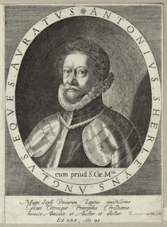 Anthony Sherley (Shirley), possibly by Aegidius Sadeler II - NPG D26057