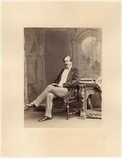 Sir Henry Creswicke Rawlinson, 1st Bt, by Ernest Edwards - NPG x12791