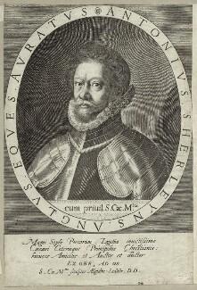 Anthony Sherley (Shirley), possibly by Aegidius Sadeler II - NPG D26058