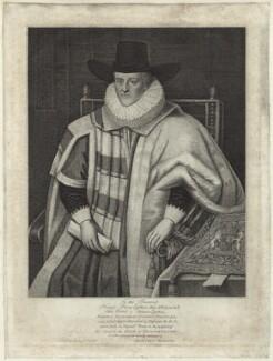 Thomas Egerton, 1st Viscount Brackley, published by Silvester (Sylvester) Harding - NPG D26065