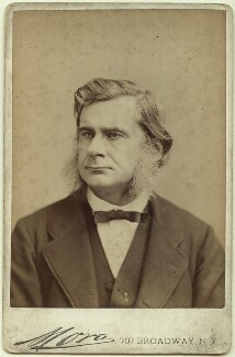 Thomas Henry Huxley, by Jose Maria Mora - NPG x35907