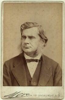 Thomas Henry Huxley, by Jose Maria Mora, circa 1880 - NPG x35907 - © National Portrait Gallery, London