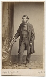 Thomas Henry Huxley, by Maull & Polyblank, early 1860s - NPG x45092 - © National Portrait Gallery, London