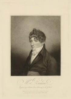 John Braham, by Anthony Cardon, after  John George Wood - NPG D32083