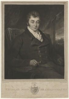 Charles John Brandling, by Charles Turner, after  Henry Perlee Parker - NPG D32087