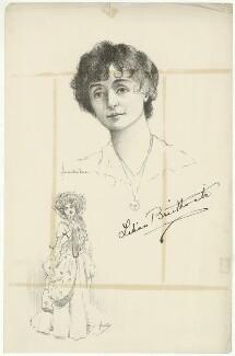Dame (Florence) Lilian Braithwaite, after Howard van Dusen, and after  John Hassall - NPG D32088