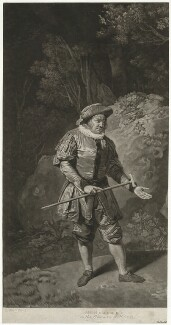 Astley Bransby, by John Young, after  Johan Joseph Zoffany - NPG D32089