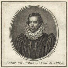 Sir Edward Coke, by Guillaume Philippe Benoist - NPG D26085