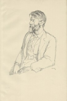 Robert Bridges, by Sir William Rothenstein, 1897 - NPG D32095 - © National Portrait Gallery, London