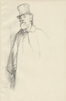 Alphonse Legros, by William Rothenstein - NPG D32096