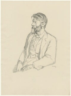 Robert Bridges, by William Rothenstein - NPG D32097