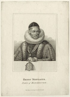 Henry Montagu, 1st Earl of Manchester, published by John Scott - NPG D26096