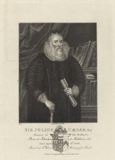 Sir Julius Caesar, published by Robert Wilkinson - NPG D26098