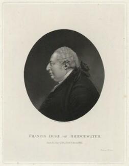 Francis Egerton, 3rd Duke of Bridgewater, by James Heath, after  Unknown artist - NPG D32102