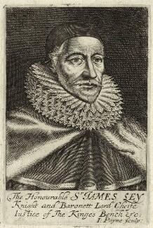 James Ley, 1st Earl of Marlborough, by John Payne - NPG D26104