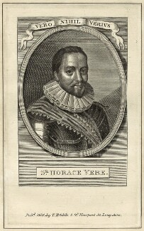 Horace Vere, Baron Vere of Tilbury, published by Thomas Rodd the Elder, after  William Faithorne - NPG D26113