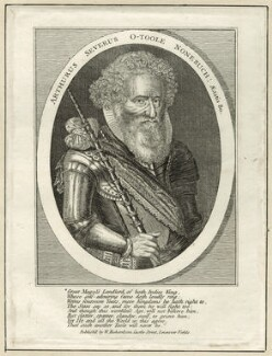 Arthur O'Toole, published by William Richardson, after  Francis Delaram - NPG D26122