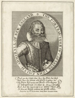 John Smith, published by William Richardson, after  Simon de Passe - NPG D26123