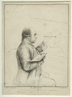 George Stubbs, by James Bretherton, after  Thomas Orde-Powlett, 1st Baron Bolton - NPG D32108
