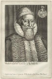 Sir William Waad, published by William Richardson - NPG D26137