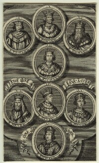 The lines of Plantagenet, Lancaster and York, by George Vertue - NPG D32045