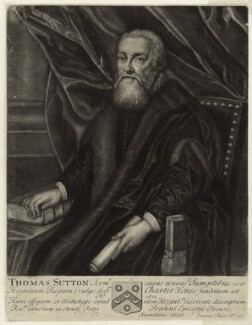Thomas Sutton, by John Faber Sr - NPG D26144