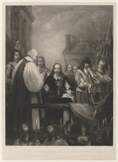 'The last moments of King Charles the First', by James Scott, published by  Thomas Boys, published by  Rittner & Goupil, after  William Fisk - NPG D32081