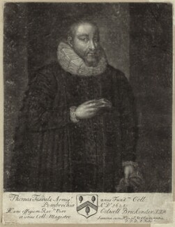 Thomas Tesdale, by John Faber Sr - NPG D26156