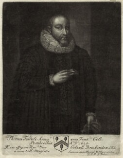 Thomas Tesdale, by John Faber Sr - NPG D26157