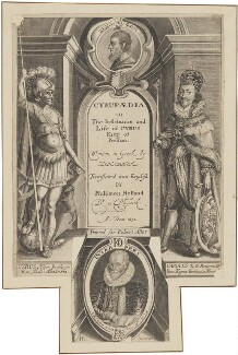 Xenophon; Cyrus the Great, King of the Persians; King Charles I; Philemon Holland, by William Marshall - NPG D32046