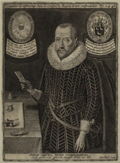 Sir Robert Naunton, by Simon de Passe - NPG D26162