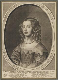 Mary, Princess of Orange, by Crispyn van den Queborne, after  Sir Anthony van Dyck, 1640s - NPG D32049 - © National Portrait Gallery, London