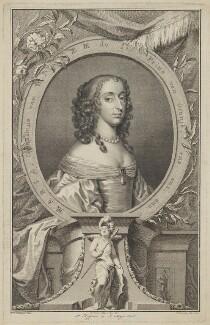 Mary, Princess Royal and Princess of Orange, by Jacobus Houbraken, after  Gerrit van Honthorst - NPG D32109