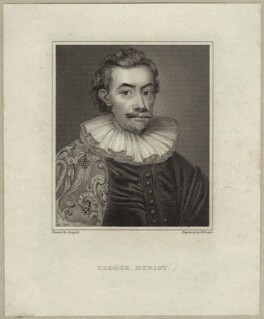 George Heriot, by Robert Cooper, after  David Scougall - NPG D26171