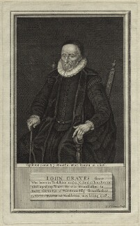 John Graves, by George Vertue - NPG D26174