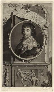Frederick V, King of Bohemia and Elector Palatine, by Pieter Stevens van Gunst, after  Adriaen van der Werff - NPG D26191
