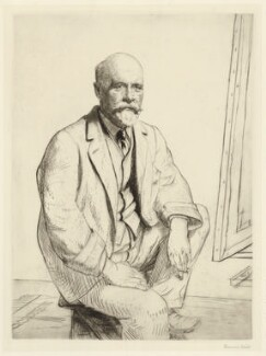 Sir George Clausen, by Francis Dodd - NPG D32125