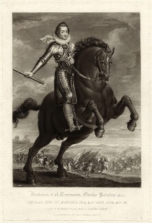 Frederick V, King of Bohemia and Elector Palatine, by Charles Turner - NPG D26192
