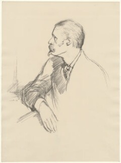 Walter Crane, by William Rothenstein - NPG D32126