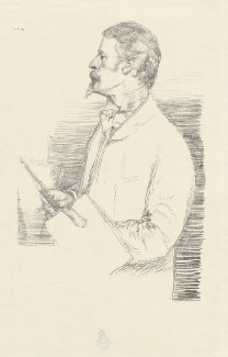 Walter Crane, by William Rothenstein - NPG D32128