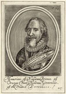 Maurice of Nassau, Prince of Orange, after Unknown artist - NPG D26199