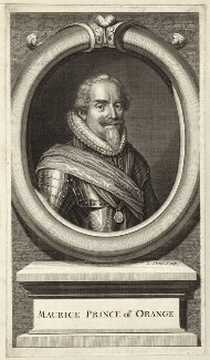 Maurice of Nassau, Prince of Orange, by George Vertue - NPG D26202