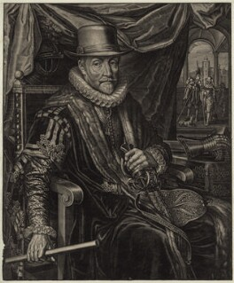Maurice of Nassau, Prince of Orange, possibly by Boetius Adams Bolswert (Bolswerth) - NPG D26206