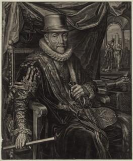 William I, Prince of Orange, possibly by Boetius Adams Bolswert (Bolswerth) - NPG D26206