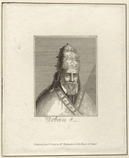 Pope Urban VIII (Maffeo Barbarini), published by William Richardson - NPG D26211