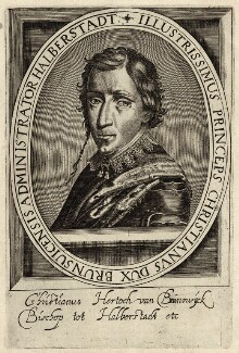 Christian the Younger, Duke of Brunswick, after Unknown artist - NPG D26212
