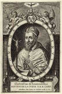 Pope Urban VIII (Maffeo Barbarini), by Jan van Mechelen - NPG D26213