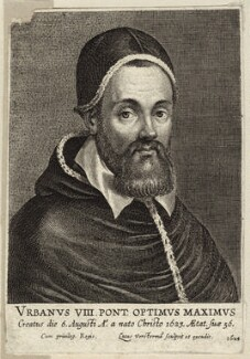 Pope Urban VIII (Maffeo Barbarini), by Lucas Vorsterman - NPG D26221