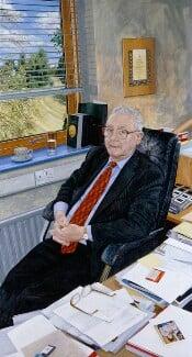 Sir Peter Mansfield, by Stephen Shankland, 2008 - NPG 6836 - © National Portrait Gallery, London